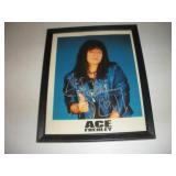 Ace Frehley Framed Picture  9x11 Inches