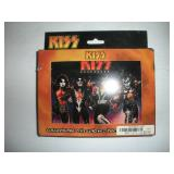 KISS Playing Cards With Collector Tin