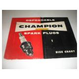 Champion Size Spark Plug Chart