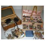 Costume Jewelry & Jewelry Boxes