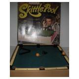 Vintage Aurora Skittle Pool   24x24x4 Inches
