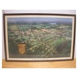 Valley Forge Military Academy Ariel Print
