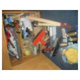 Paint Supplies-Contents of Cabinet