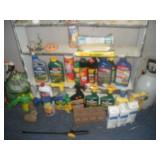 Lawn and Garden Items-Contents of Shelves