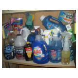 Cleaning Supplies-Contents of 1 Shelf