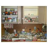 Contents of Workbench and Shelves-Hardware