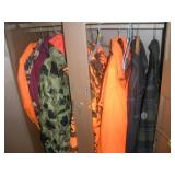 Contents of Metal Wardrobe-Hunting Clothes