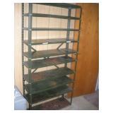 Metal Shelving Unit, 36x12x75