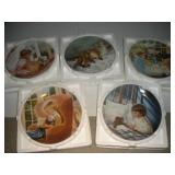 Knowles Collectors Plates-Sweetness and Grace (4)
