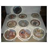 Franklin Mint Collectors Plates-Heirloom (10)