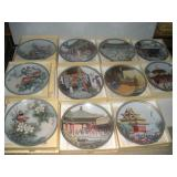 Chinese Collectors Plates-Forbidden City (8)