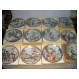 Chinese Collectors Plates-The Red Mansion (12)