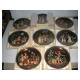 Bradex Collectors Plates-Legend of Tutankhamen