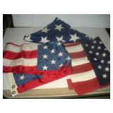 3 US  Flags
