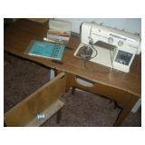 Capitol Model 300 Sewing Machine in Cabinet