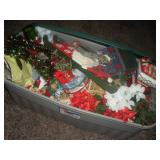 1 Large Tote Christmas Decorations