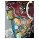 Misc. Baking Items-Cookie Cutters, Cupcake Papers