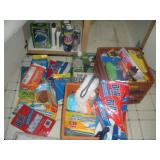 Contents of Cabinet-Kitchen Cleaners, Trash Bags