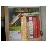 Contents of Cabinet, Vintage Betty Crocker