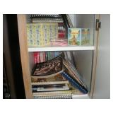 Contents of Cabinet, Cook Books