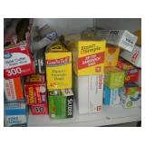 Contents of Cabinet-Storage Bags, Plastic Wrap