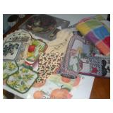 Kitchen items-Cake Knife and Plate, Placemats