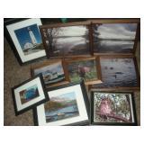 Framed Photographs, Largest 16x13