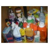 Contents of Cabinet-Laundry Supplies