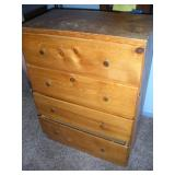 Pine Chest of Drawers,