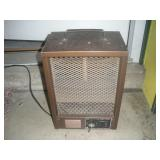 Portable Heater, 15 inches Tall