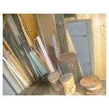 Wood- Contents of 1st Shed