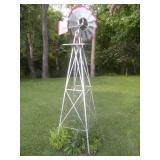 Decorative Windmill-Approx. 8 ft. Tall