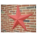 Decorative Metal Star, 33 inches