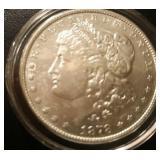 1878 US Morgan Silver Dollar