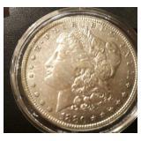 1880 US Morgan Silver Dollar