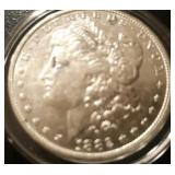1882 US Morgan Silver Dollar