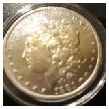 1881 US Morgan Silver Dollar