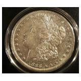 1888 US Morgan Silver Dollar