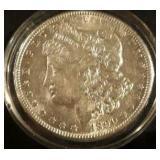 1890 US Morgan Silver Dollar