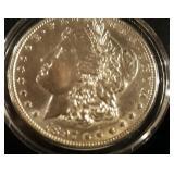 1897 US Morgan Silver Dollar