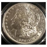 1898 US Morgan Silver Dollar