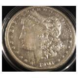 1901 US Morgan Silver Dollar
