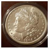 1904 US Morgan Silver Dollar