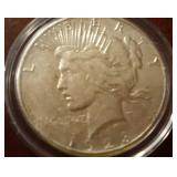 1923 US Peace Silver Dollar