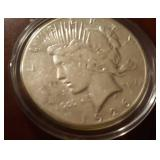 1925 US Peace Silver Dollar