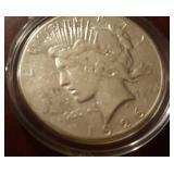 1926 US Peace Silver Dollar
