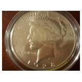 1928 US Peace Silver Dollar