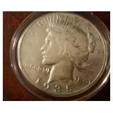 1935 US Peace Silver Dollar