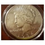 1934 US Peace Silver Dollar