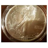 1992 US American Eagle Liberty Silver Dollar